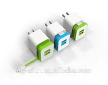 portable mobile phone dual usb charger