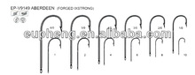 High quality sport fish hooks EP-9149 ABERDEEN (FORGED IXSTRONG)