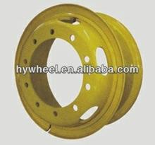 TS 16949,OEM tubeless, tube steel wheel rim for trucks