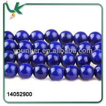 AFGANISTAN GEM STONE Round Blue Color With Gold Flecks Lapis Lazuli stone beads For Bead Necklace Bracelets