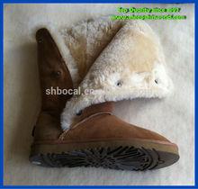 Nouvelle arrivée en peau de mouton bottes d'hiver