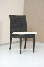 2012 Black Resin Outdoor Garden Chair