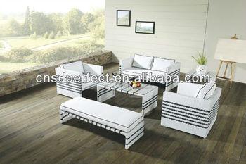 2014 new design rattan hotel furniture