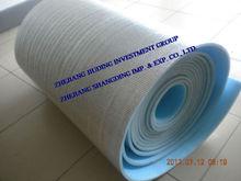 Foil backed foam insulation aluminum foil blue EPE insulation materials underlayment