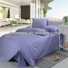 china new design cheap purple hotel bedding and hotel bed linen