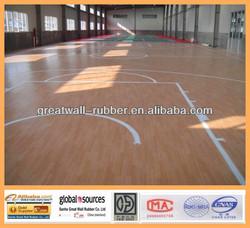 Wood Design PVC Sports Flooring