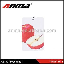 customer design soccer air freshener /designer car air freshener