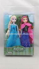 """Frozen 12"""" Toy Elsa & Anna Princess Figures Play Set Doll"""