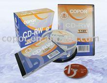 12x 700mb 80mins blank cd-rw/cdrw/rewritable cd