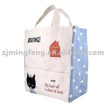 high quality fashion cotton tote shopping bag(wz0790)