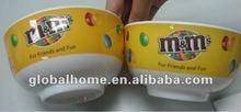 Melamine chocolate bowl