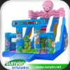 Giant Cartoon Inflatable Octopus Slide for Kids