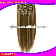 Most Popular malaysian hair Clip in Hair weaving