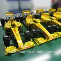 1:18 F1 racing car model, high quality metal car toy