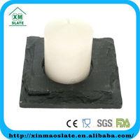 'factory direct' holiday celebration square shaped slate votive candle holder stone candle holder stone candle holder
