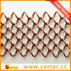 2014 new style metal curtains for decoration and room divider