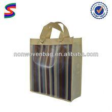 Bamboo Non Woven Bags Beauty Foldable Non Woven Bag