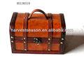 boîte de rangement en bois vintage