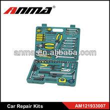 82PCS multifunction car repair tool kit emergency tool kit tools car