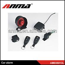 Multi-band car alarms system one way voice car alarm