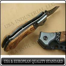 liner-lock hunting folding knife ,survival knife ,professional offer all kinds of hunting equipments,support retail