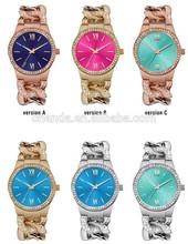 2015 Top Selling Alloy Watch Ladies, Wrist Watch Fashion Watch