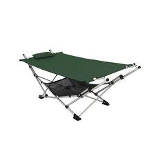 Portable Beach Hammock with Stand & Mesh Shelf