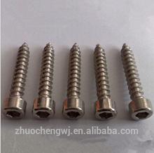 zp socket head self tapping screw DIN7981