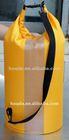 30L 190T nylon pvc with 250D tarpaulin transparent PVC tarpaulin waterproof bag for boat use,beach use