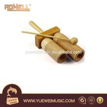 Bloque de madera / de los niños de juguete de percusión / Guiro