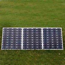 best price per watt 70W18v Mono Solar Panels for 12v LED light