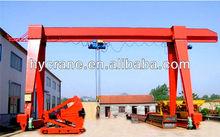 Electric Hoist Single Girder Project Gantry Crane 5T