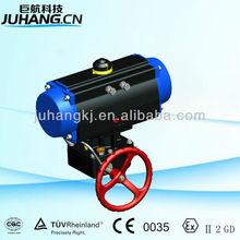 Gear box manual clutch actuator