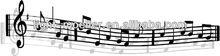 wrought iron music art