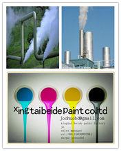 Organic silicon high temperature resistant anticorrosive paint
