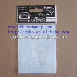 Door to door shipment auto window graphics decals -- DH 11282