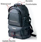 DSLR SLR Digital Camera Backpack Travel Photo Bag For Canon Nikon Sony Fuji