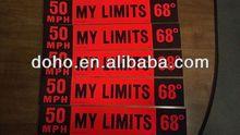 Factory outlets carbon fiber vinyl car sticker -- DH 14540