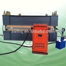 DBX-1450 mm Mine flameproof aluminum alloy hot spicing rubber conveyor belt vulcanizer