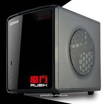 Mini desktop computer case