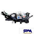 Sbm rock crusher mobile, com alta qualidade utilizados em pedra e minério de esmagamento, e material de construção de quebra