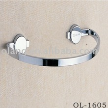 bathroom accessory- brass+chrome plating towel ring