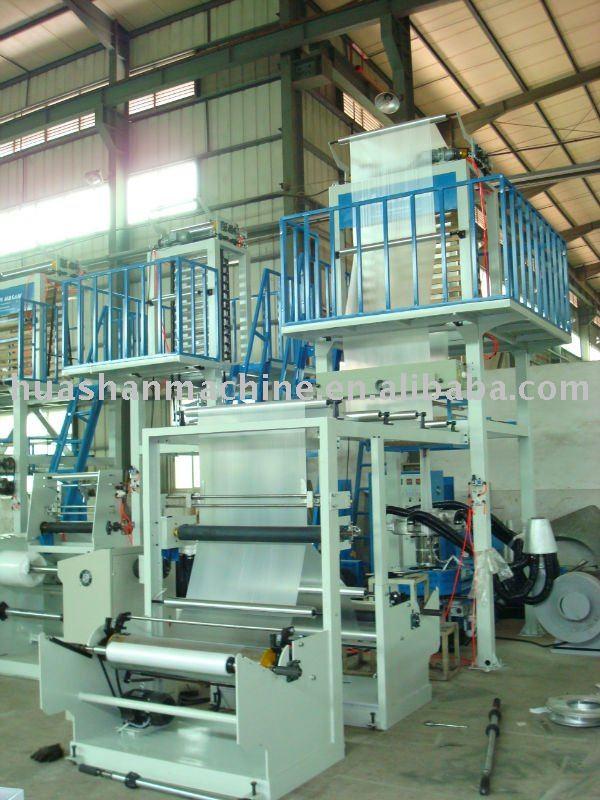 LDPE blowing film machine (SJ55-FMS1100)