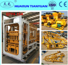 QTY4-15A Automatic Concrete Brick Making Machine (Tianyuan Brand)