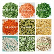 FD freeze dried mixed vegetables