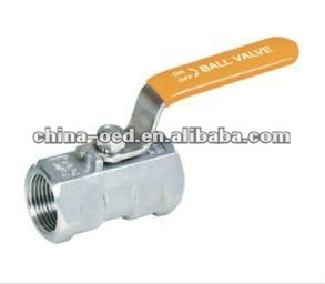 DN25 first class 1 piece style ball valve manufaturer selling customized design