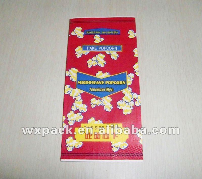 Bag Microwave Popcorn Microwave Popcorn Paper Bag