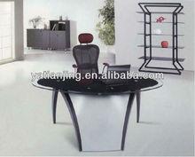 modern small glass office desks