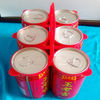 Top brand of drinking can plastic carrier with 6 holes