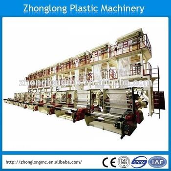 PE plastic film extruder HDPE, LDPE film for plastic bag
